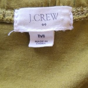 J. Crew Dresses - J Crew chartreuse dress